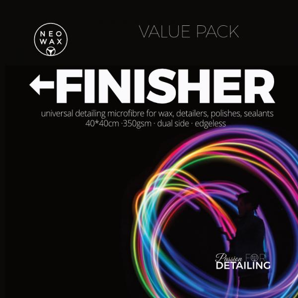 NEOWAX FINISHER Universal Microfasertuch [5 Pack]