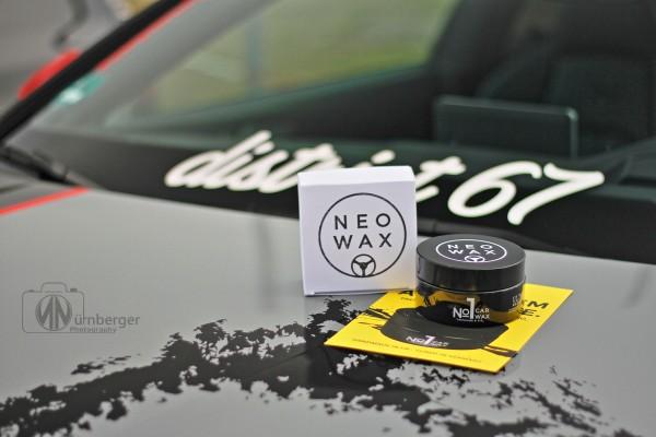 NEOWAX Car Wax №1 Wachs Autowachs mit 50% T1-Carnauba und Siliziumdioxyd (SiO2) - für alle Lacke und