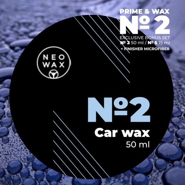 NEOWAX Car Wax №2 Exclusive Set