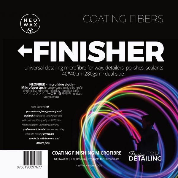 NEOWAX FINISHER Coating Fiber (10 Pack) [VALUE-PACK]
